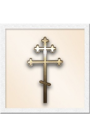 Крест из бронзы 23082-15