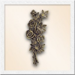 Цветы из бронзы 40005-33