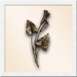 Цветы из бронзы 40002-45