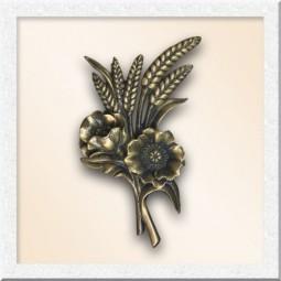 Цветы из бронзы 40014-19