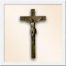 Крест с распятием из бронзы 23418-30