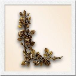Цветы из бронзы 29049-50
