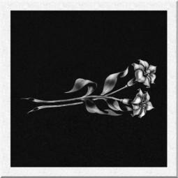 Гравировка цветов ИЦ004
