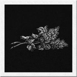 Гравировка цветов ИЦ008