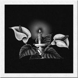 Гравировка свечей ИС007