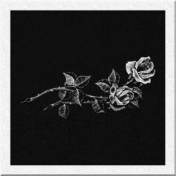 Гравировка цветов ИЦ001