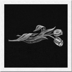 Гравировка цветов ИЦ005