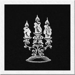 Гравировка свечей ИС004