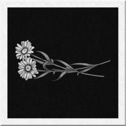 Гравировка цветов ИЦ006