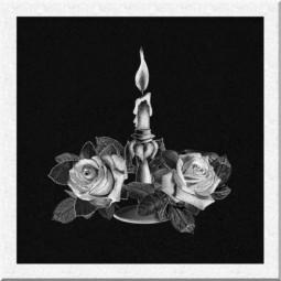 Гравировка свечей ИС006