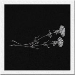 Гравировка цветов ИЦ002