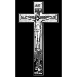 "Гравировка знака ""Крест на памятник""  — mc017"