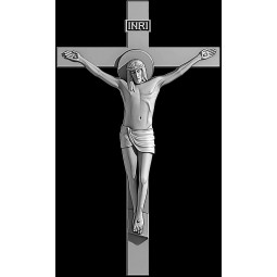 "Гравировка знака ""Крест на памятник""  — mc018"