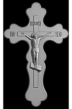 "Гравировка знака ""Крест на памятник""  — mc019"