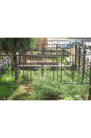 Ковка ограда № 4
