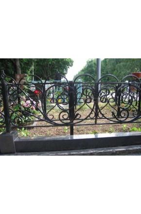 Ковка ограда № 6