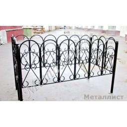Ковка ограда № 9