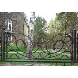 Ковка ограда № 14