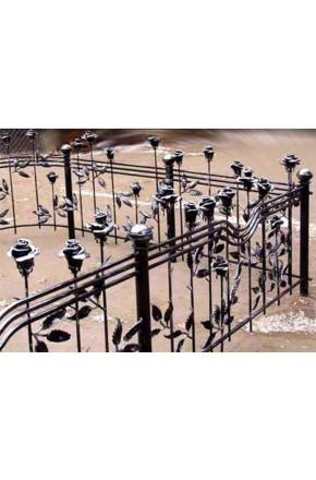 Ковка ограда № 19