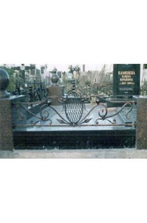 Ковка ограда № 22