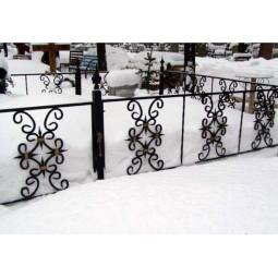 Ковка ограда № 23