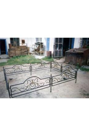 Ковка ограда № 24