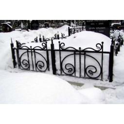 Ковка ограда № 28