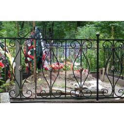 Ковка ограда № 34