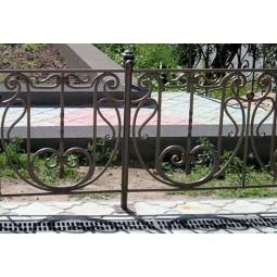 Ковка ограда № 38