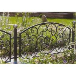Ковка ограда № 45