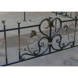 Ковка ограда № 47